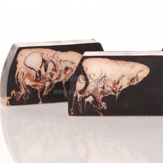 Barra jabón de glicerina chocolate