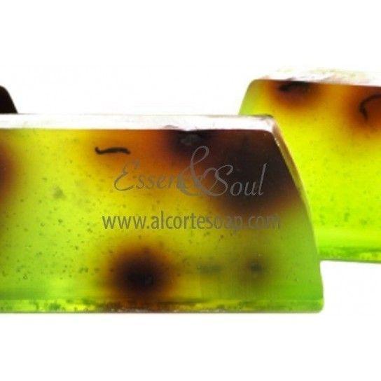 Barra jabón de glicerina árbol del té