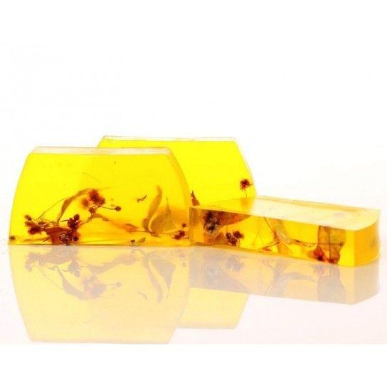 Barra jabón de glicerina flores de tilo (linden)