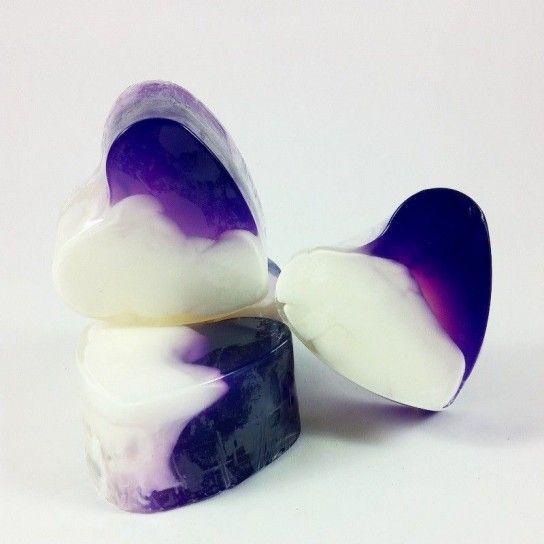 Jabón forma corazón Lavanda