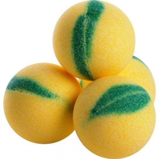 Bola de baño melón