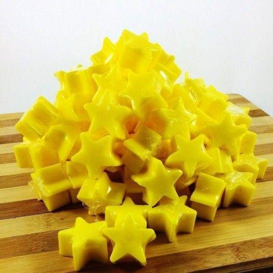 Jabón forma estrellas (plátano)