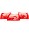 Barra jabón de glicerina Fresa