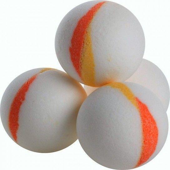 Bola de baño albaricoque