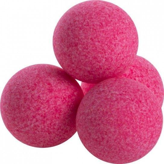 Bola de baño uva roja