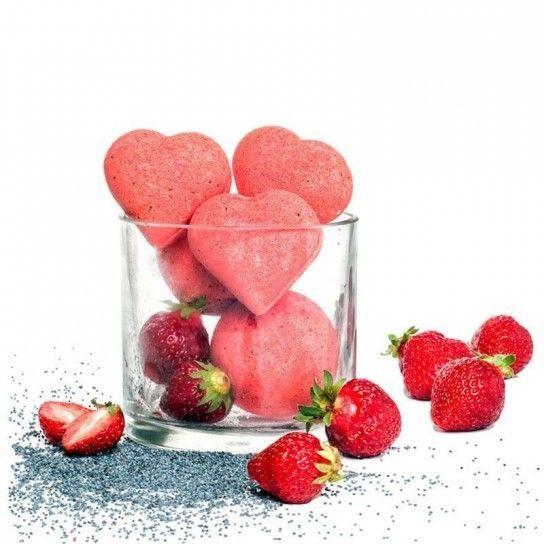 Fresas (corazón)
