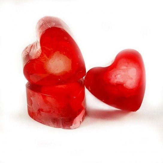 Jabón forma corazón Canela