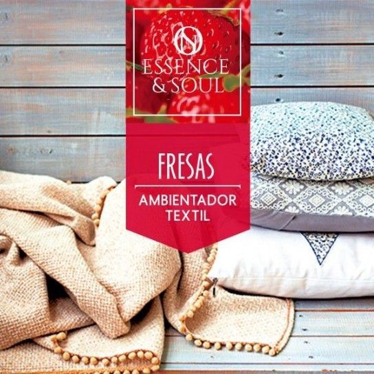 Ambientador textil Fresas
