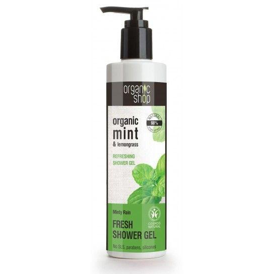 Gel de ducha refrescante Minty Rain organic shop