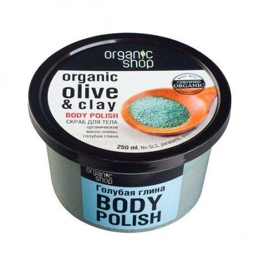 Exfoliante corporal Olive Clay