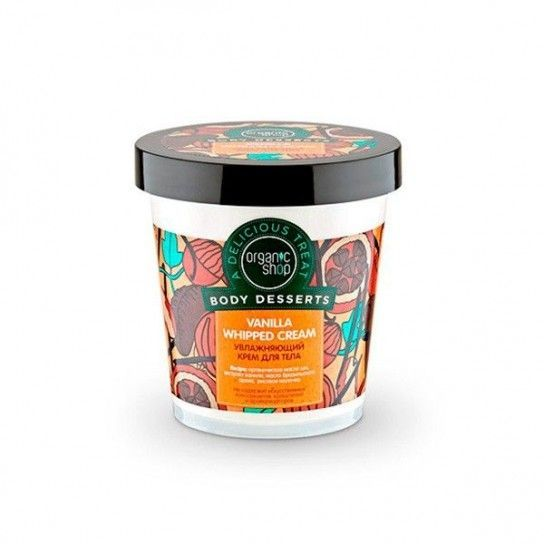 Body Cream hidratante Crema Batida de Vainilla