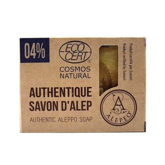 Pastilla jabón Alepo 04% EcoCert