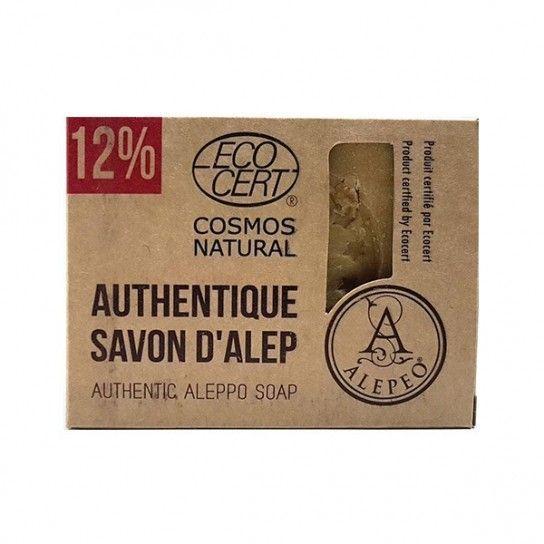 Pastilla jabón Alepo 12% EcoCert