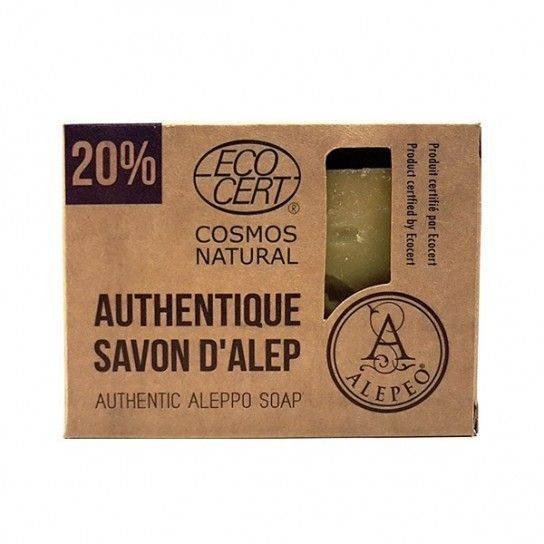 Pastilla jabón Alepo 20% EcoCert