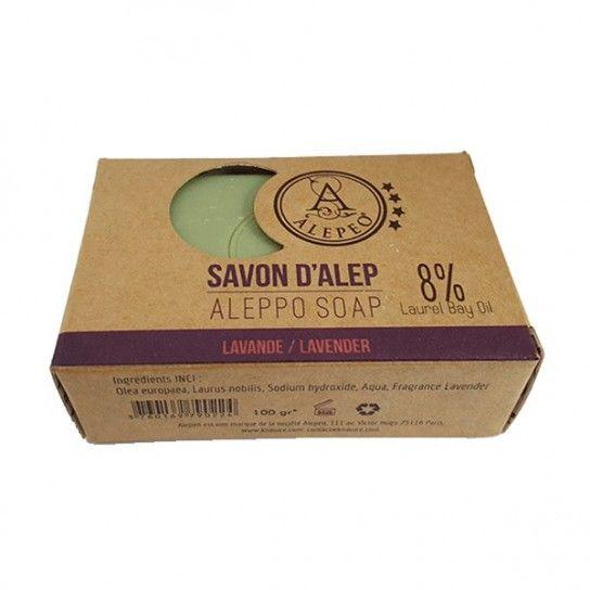 Pastilla jabón Alepo Lavender 8%