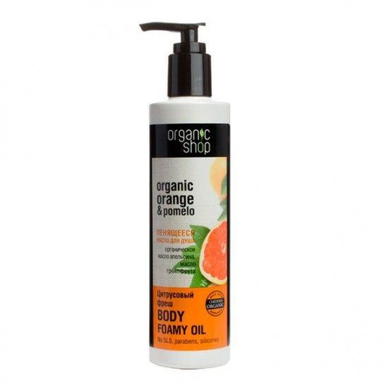 Aceite de ducha espumoso Citrus Fresh