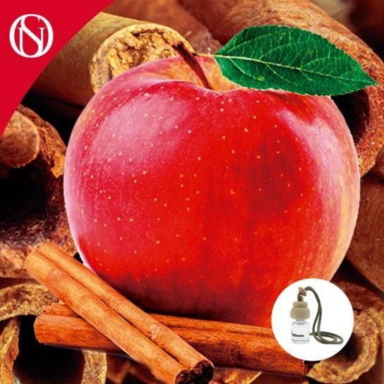 Ambientador de coche Canela y Manzana