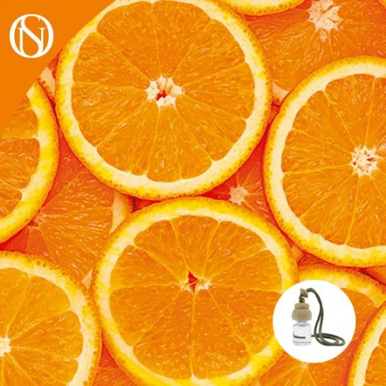 Recarga ambientador coche Naranja