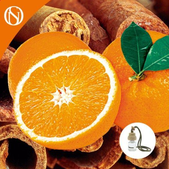 Recarga ambientador coche Canela y Naranja