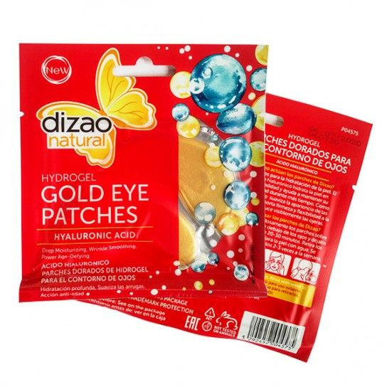 Parches de ÁCIDO HIALURÓNICO Gold Eye (5 unidades)