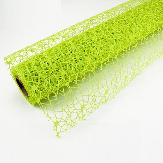 Tela de Malla Verde Pistacho