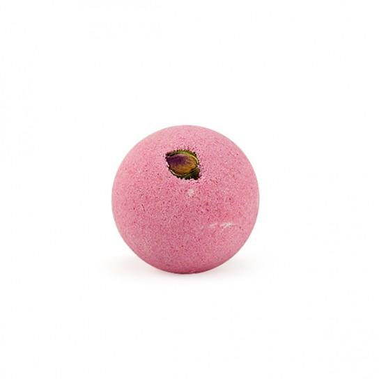 Bola de baño Rosa Roja
