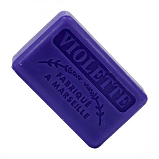 Jabón de Marsella Violetas (8ud)