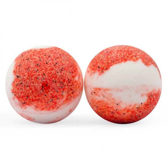 Bola de baño Strawberry Cream