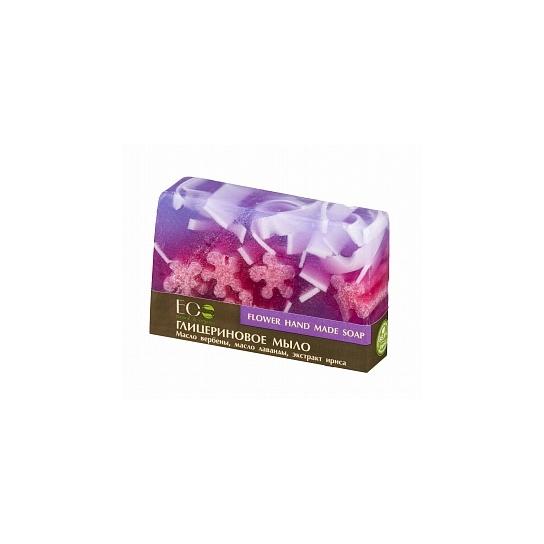 Pastilla de jabón orgánico de glicerina Flower