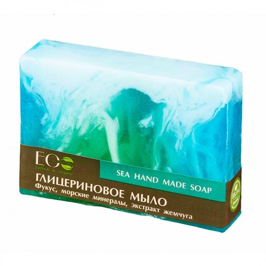 Pastilla de jabón orgánico de glicerina Sea