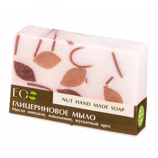 Pastilla de jabón orgánico de glicerina Nut (Nuez)