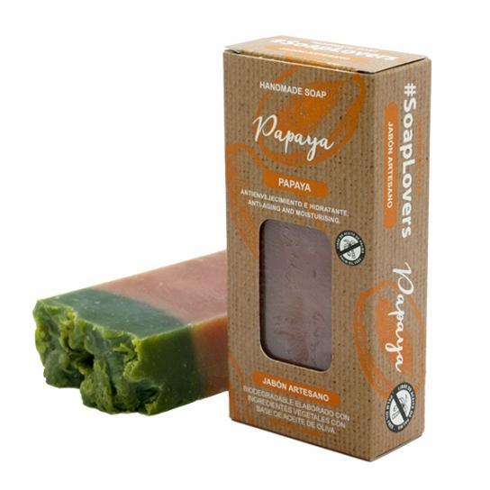 Pastilla de jabón Papaya