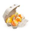 Huevo de baño Melocotón (6ud)
