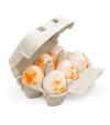 Huevo de baño Mandarina (6ud)
