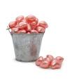 Perla de baño forma corazón rosa (100ud)