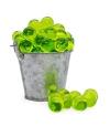 Perla de baño verde claro (100ud)