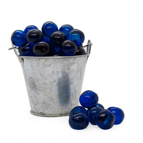 Perla de baño azul marino (100ud)