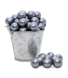 Perla de baño gris nacarado (100ud)
