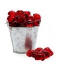 Perla de baño forma corazón Rojo (100ud)