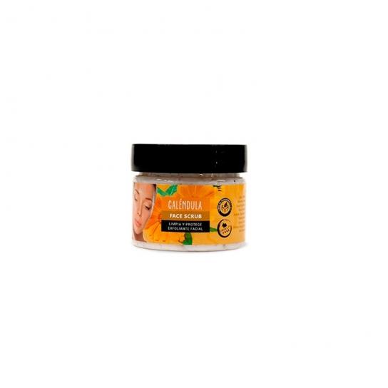 Exfoliante facial artesano (Calendula)