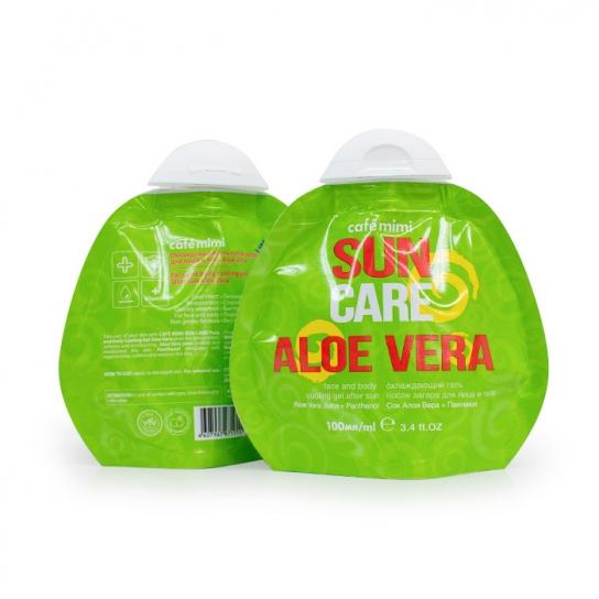 Gel refrescante After Sun con Aloe Vera y Pantenol