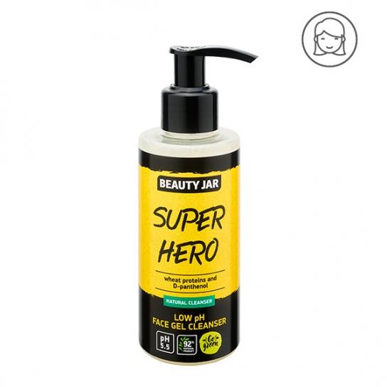 Gel limpiador facial pH bajo - Proteínas de trigo y D-pantenol