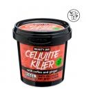 Exfoliante corporal seco anticelulítico - Café y Jengibre