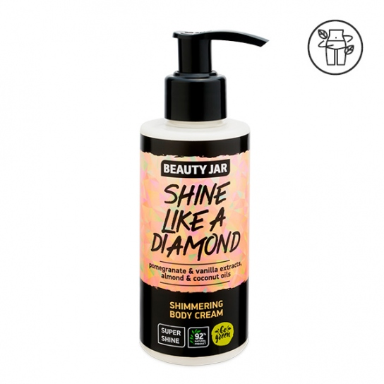 Crema corporal brillante - Granada y vainilla