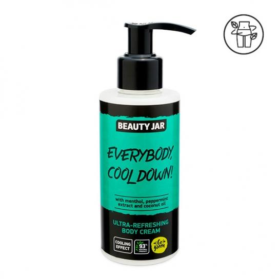 Crema corporal ultra refrescante - Mentol y menta