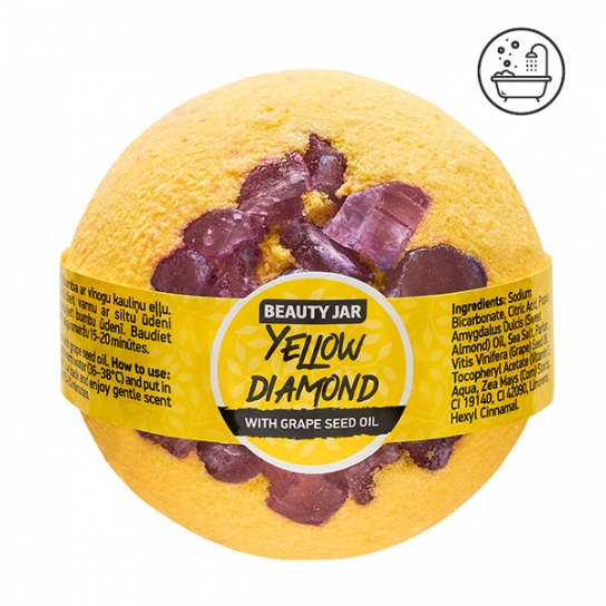 Bomba de baño - Aceite de pepitas de uva