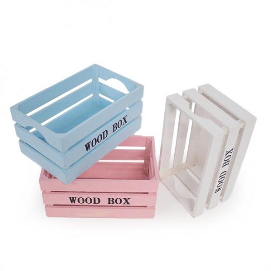 Caja de madera 26x16 (3 unidades)
