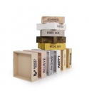 Caja de madera 17x17 (3 unidades)