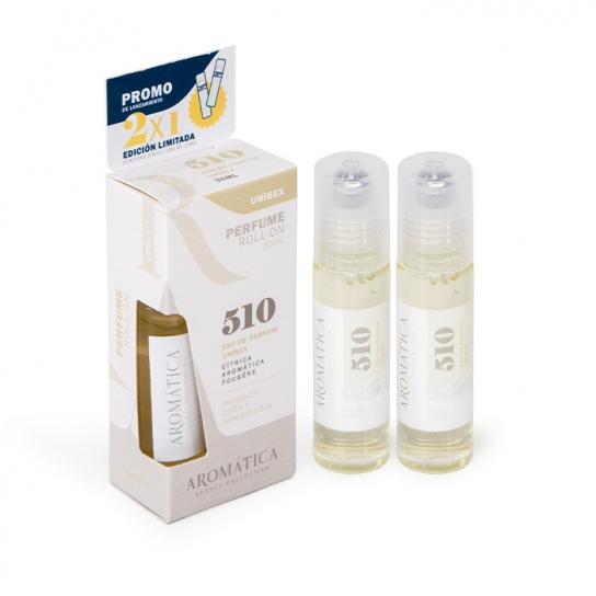 Perfume Roll-On 510 (Cítrica, Aromática, Fougére)