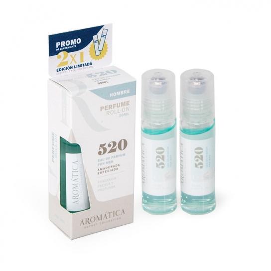 Perfume Roll-On 520 (Amaderada Especiada)